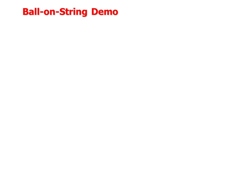 Ball-on-String Demo