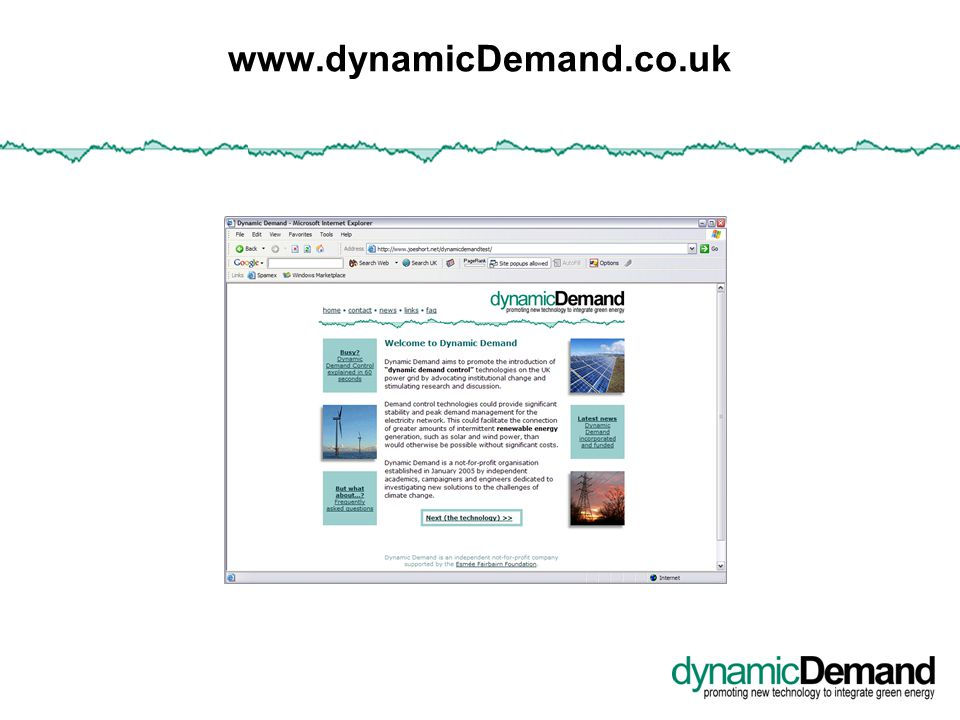 www.dynamicDemand.co.uk