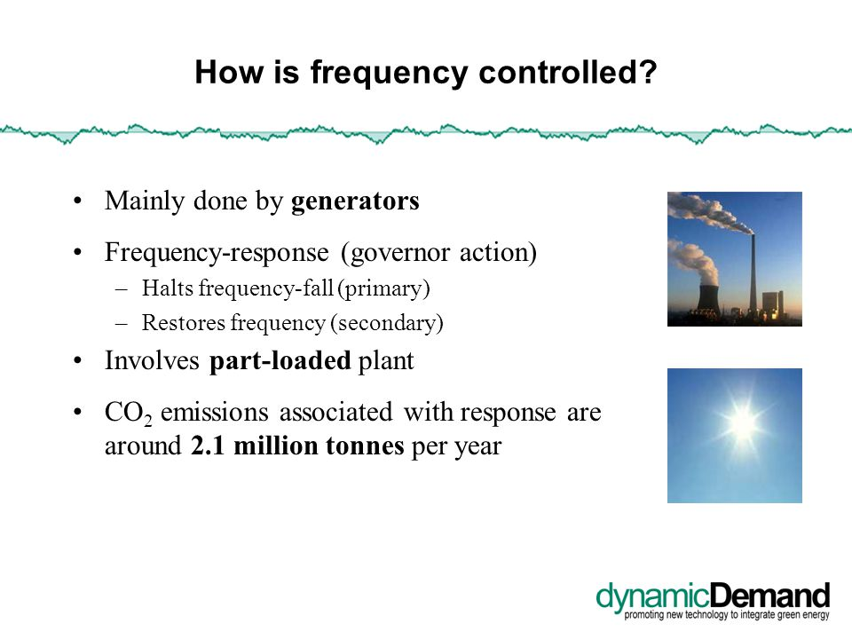 What is dynamic demand control.