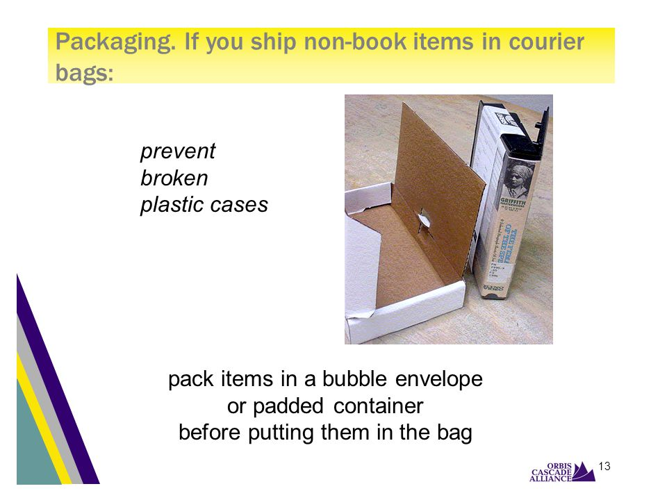 12 prevent slipping, squishing, torn pages, and worn bindings pack books spine-to-spine, or spine to bottom of bag Packaging.