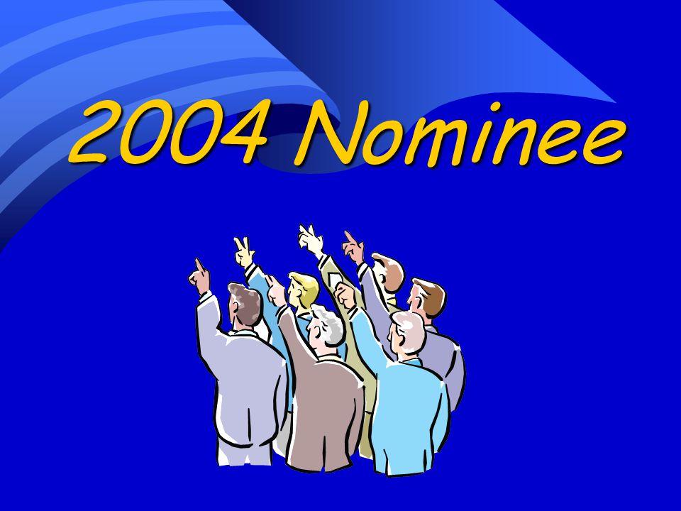 2004 Nominee