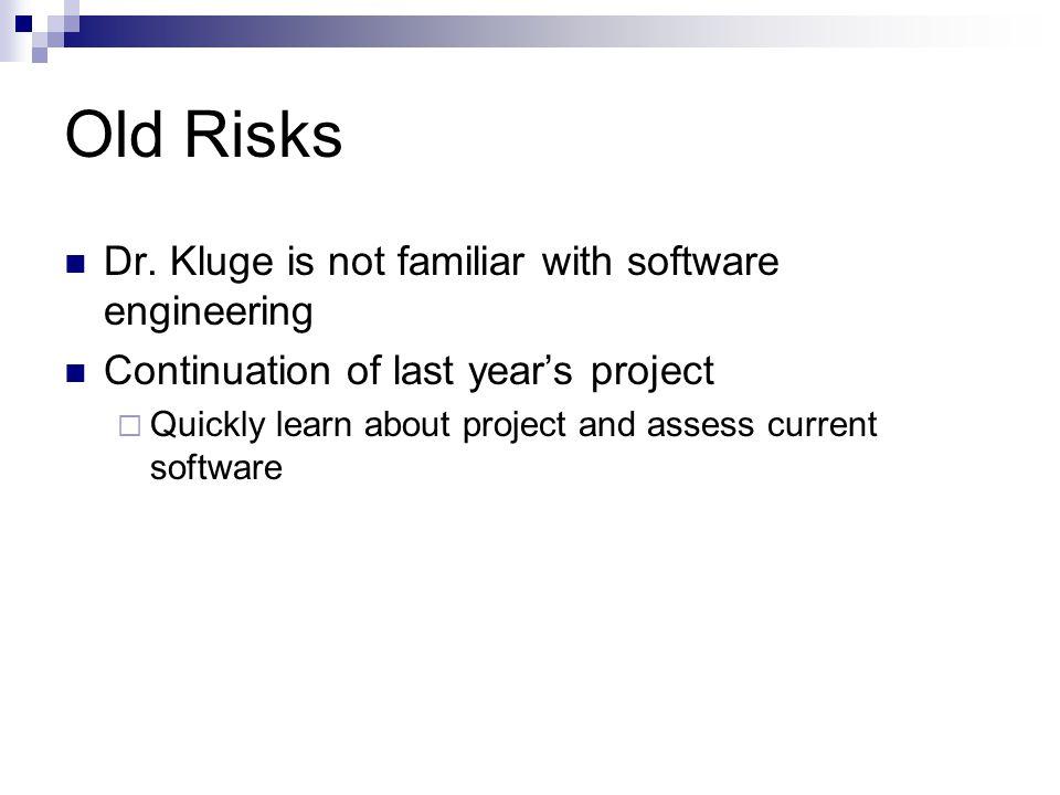 Old Risks Dr.