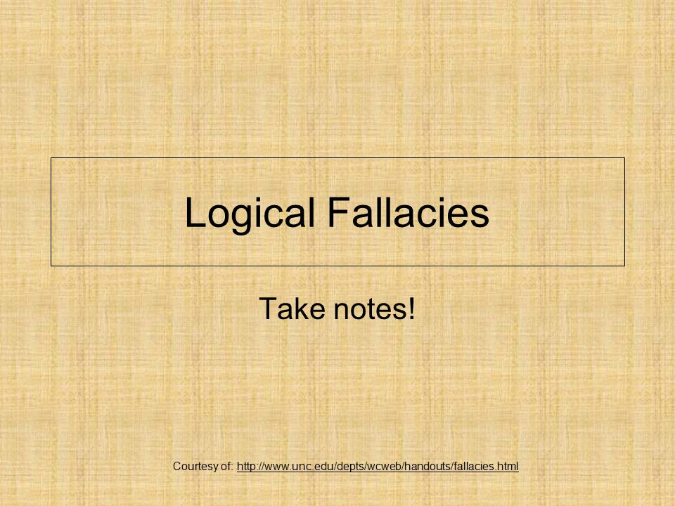 Can you name this Fallacy.11) Look, you are going to have to make up your mind.