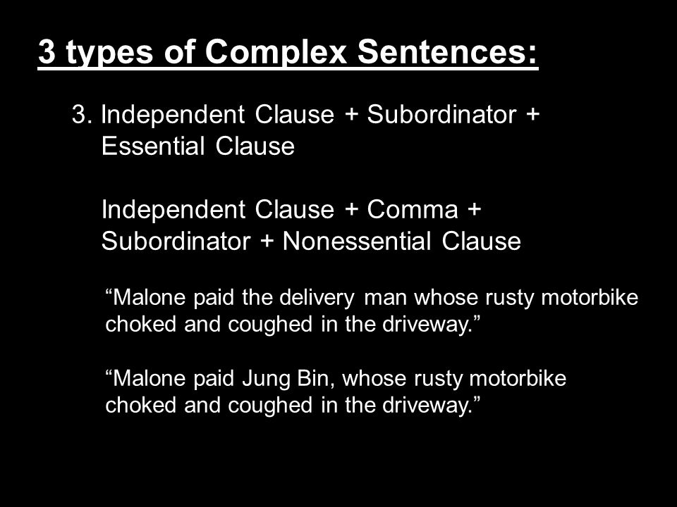 1.Highlight all of the subordinating conjunctions in your writing.