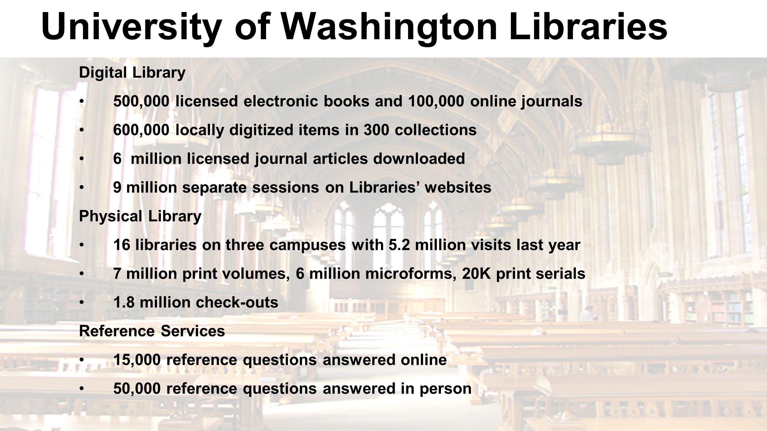 Library Discovery Service OCLC WorldCat 681M article citations 30M digital items Google Books Hathi Trust OAIster 225M books 13M eBooks