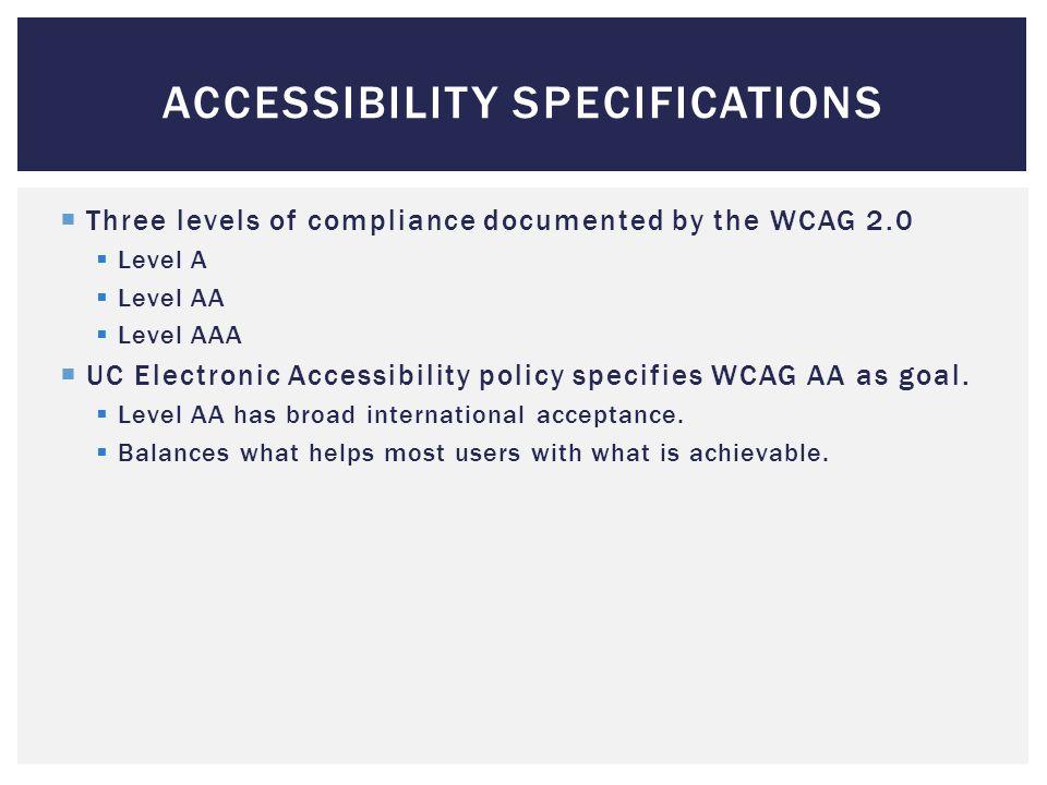  blind user  low vision user  color blind user  deaf / hard of hearing user  user with dexterity/mobility disability  user with cognitive disability USER SCENARIOS