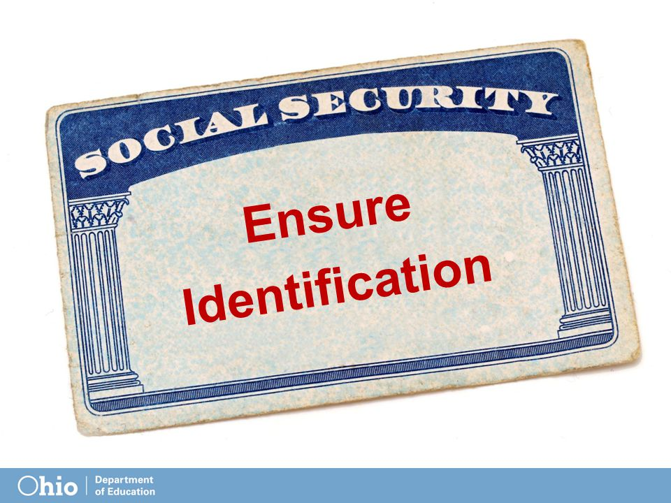 Ensure Identification