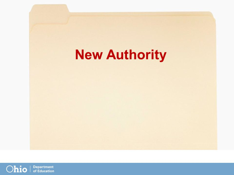New Authority