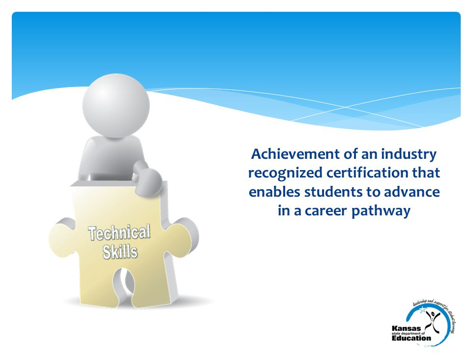 Kansans with Some Post-secondary Some Post-secondary = Credential through Advanced degree 52%