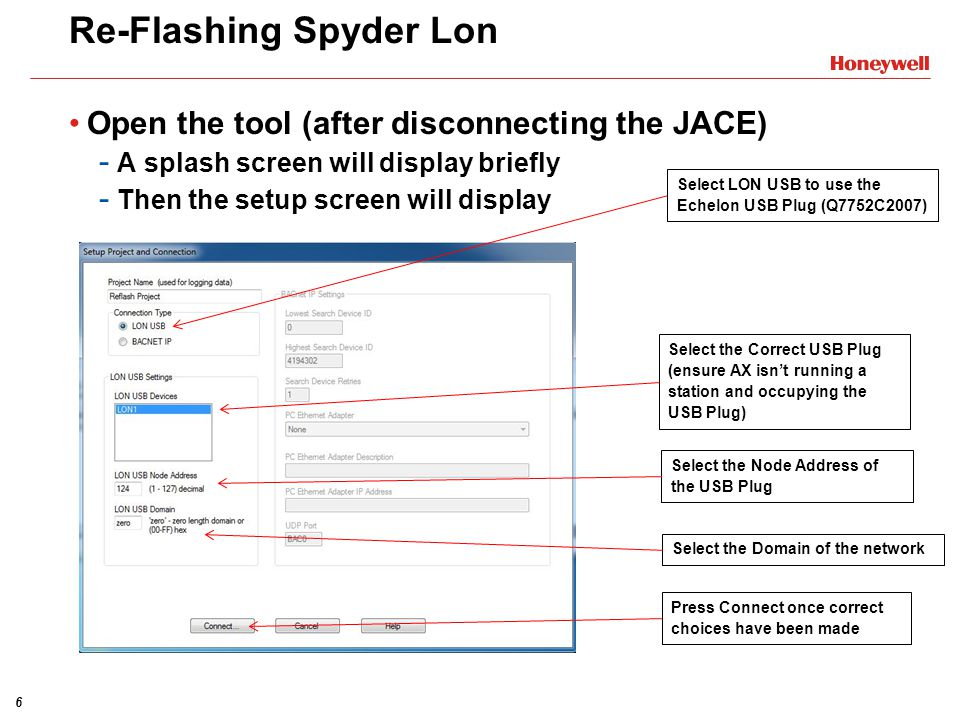 17 Re-Flashing Spyder BACnet After Download Firmware to Devices is pressed Select desired firmware image to download.