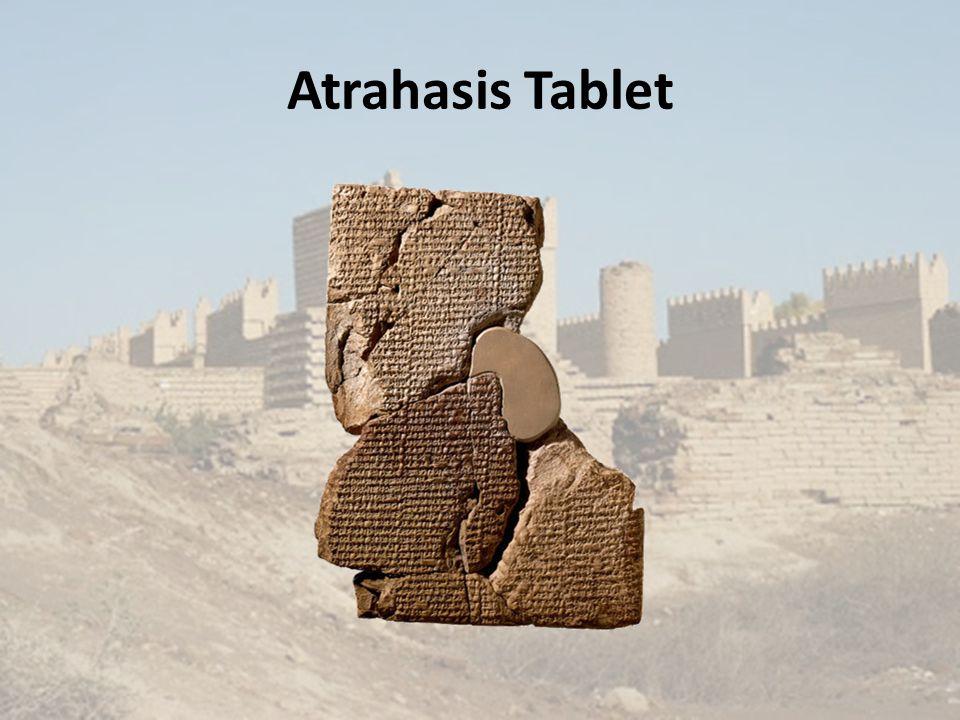 Atrahasis Tablet