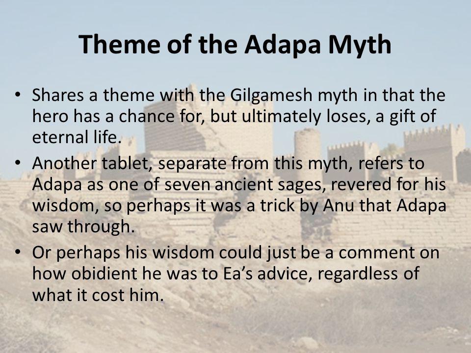Adapa and Anu in Art