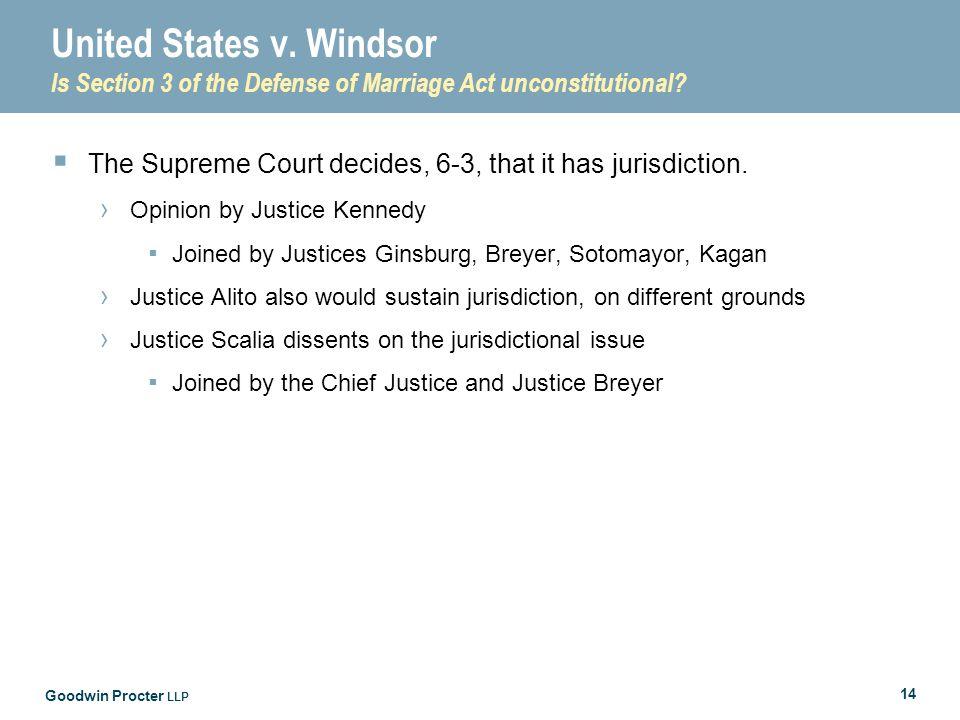 Goodwin Procter LLP 14 United States v.
