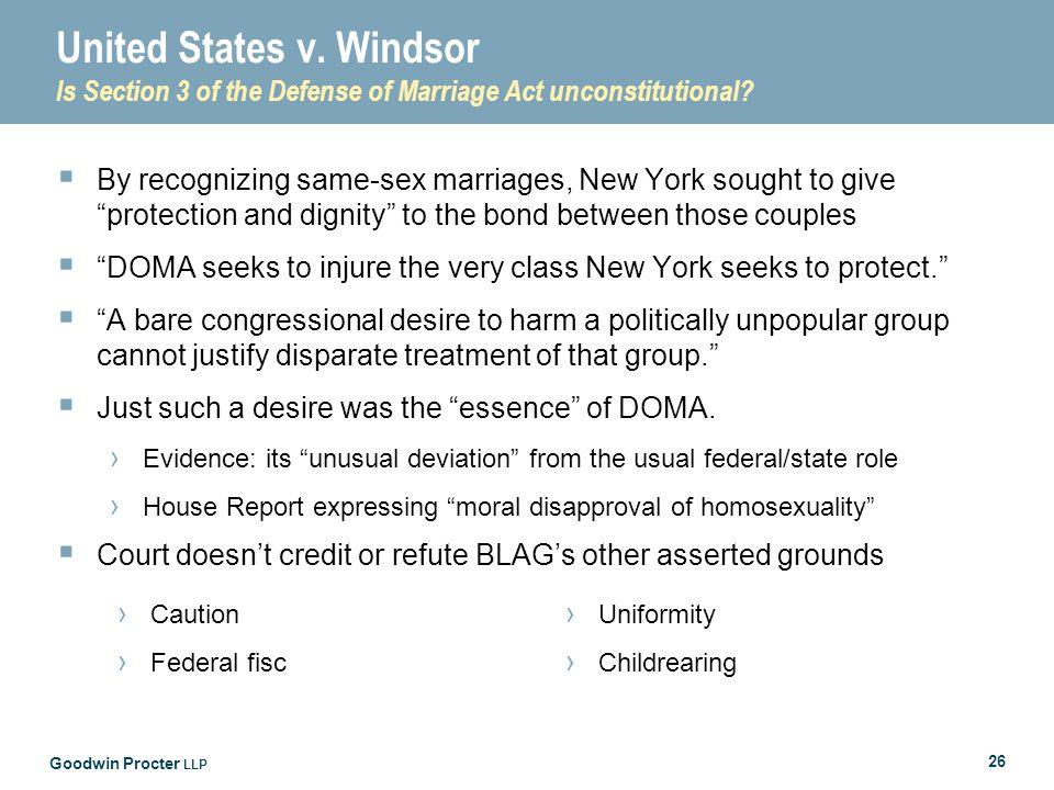 Goodwin Procter LLP 26 United States v.