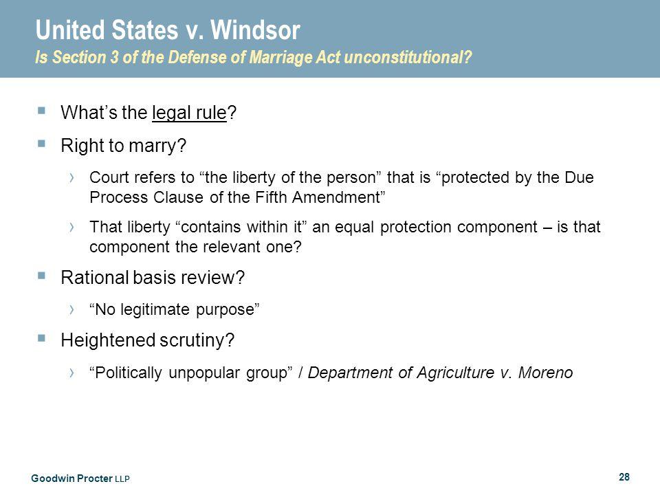 Goodwin Procter LLP 28 United States v.