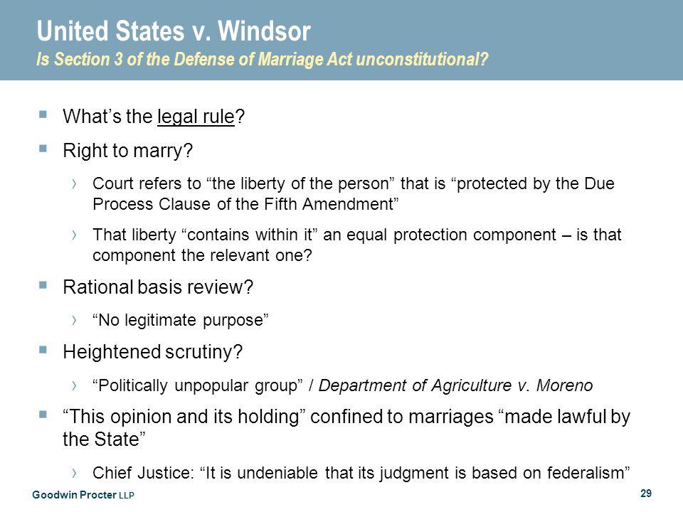 Goodwin Procter LLP 29 United States v.