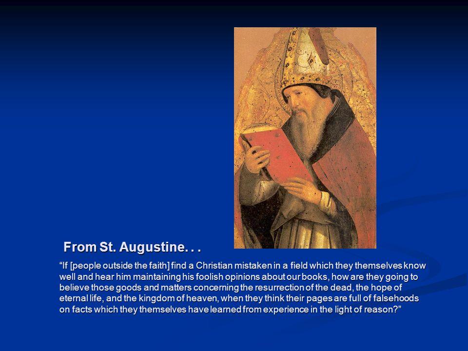 Image source: http://gavinortlund.wordp ress.com/2012/04/18/au gustines-intellectual- development/ (fair use) From St.