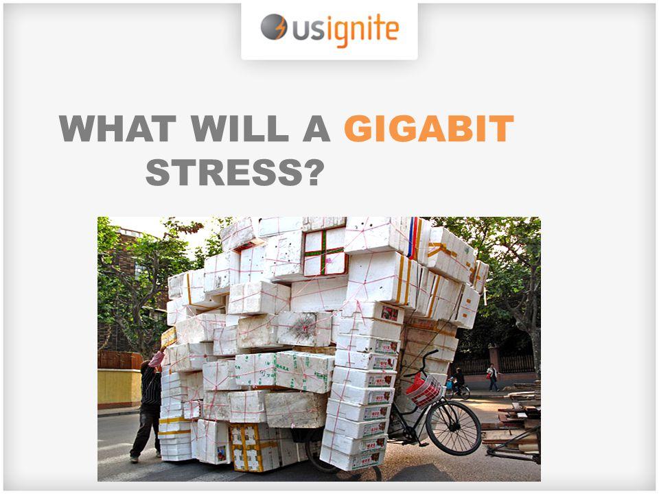 WHAT WILL A GIGABIT STRESS?