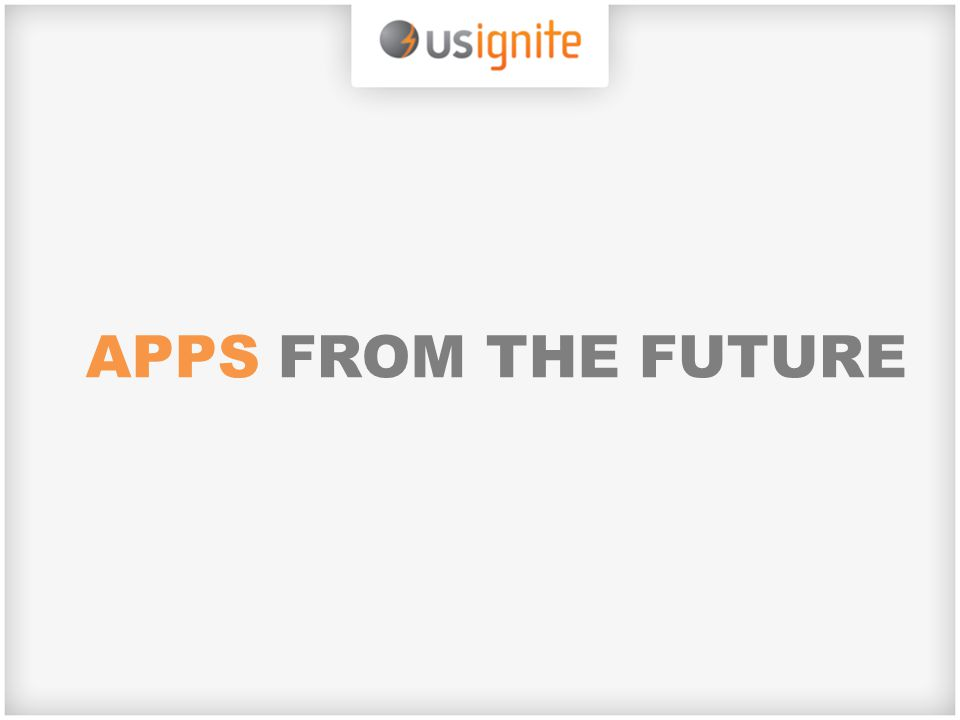 APPS FROM THE FUTURE