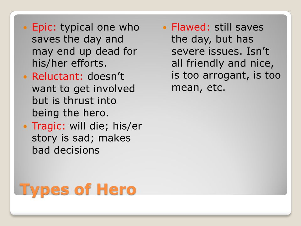 More examples of female archetypes Damsel in Distress: needs saving by the hero.