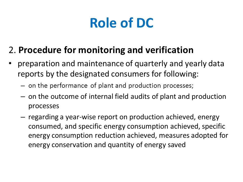 Role of DC 2.