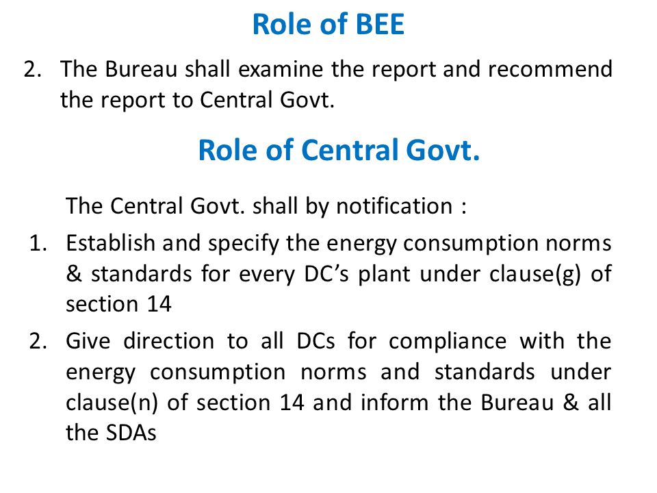 IMPLEMENTATION PHASE 1. Reporting to BEE / SDA 2. Energy Audit 3. Compliance Mechanism