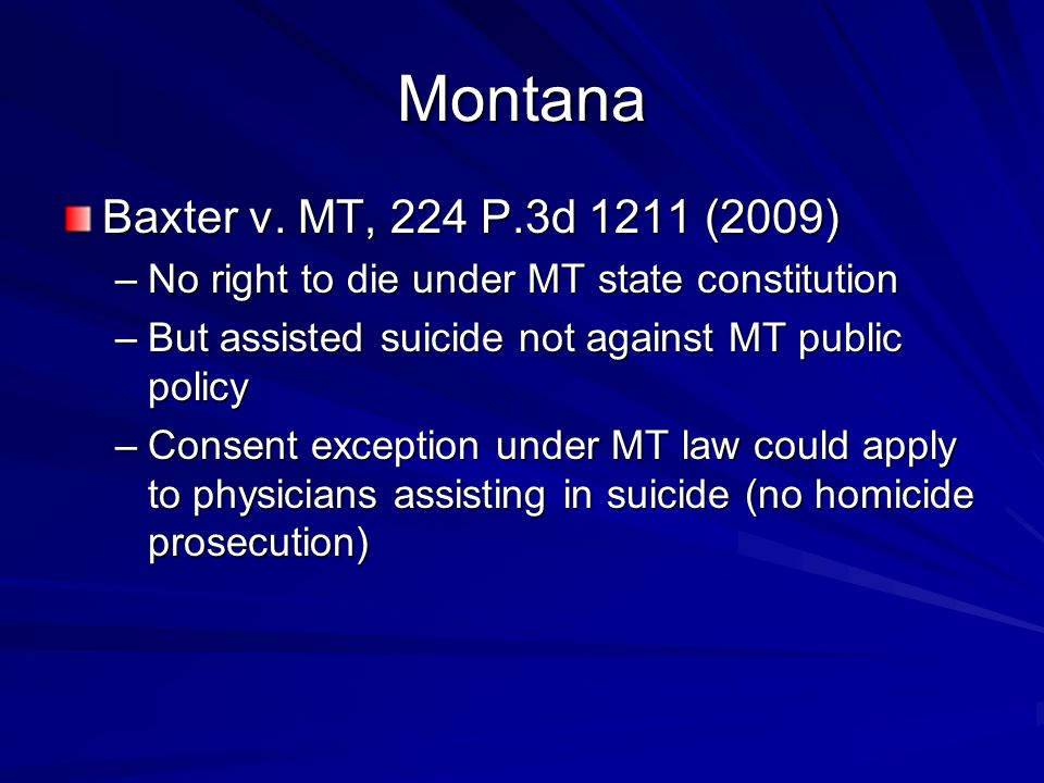 Montana Baxter v.
