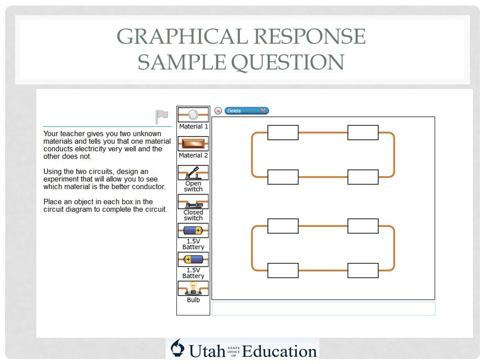 GRAPHICAL RESPONSE SAMPLE QUESTION