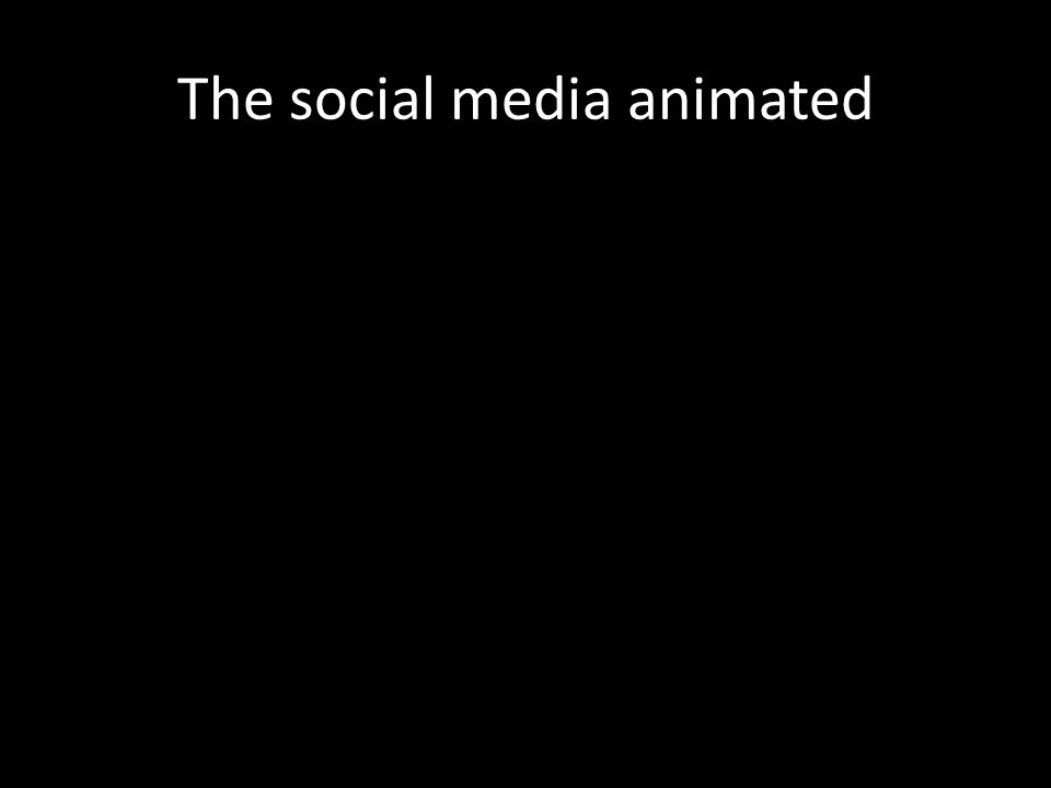 The social media animated
