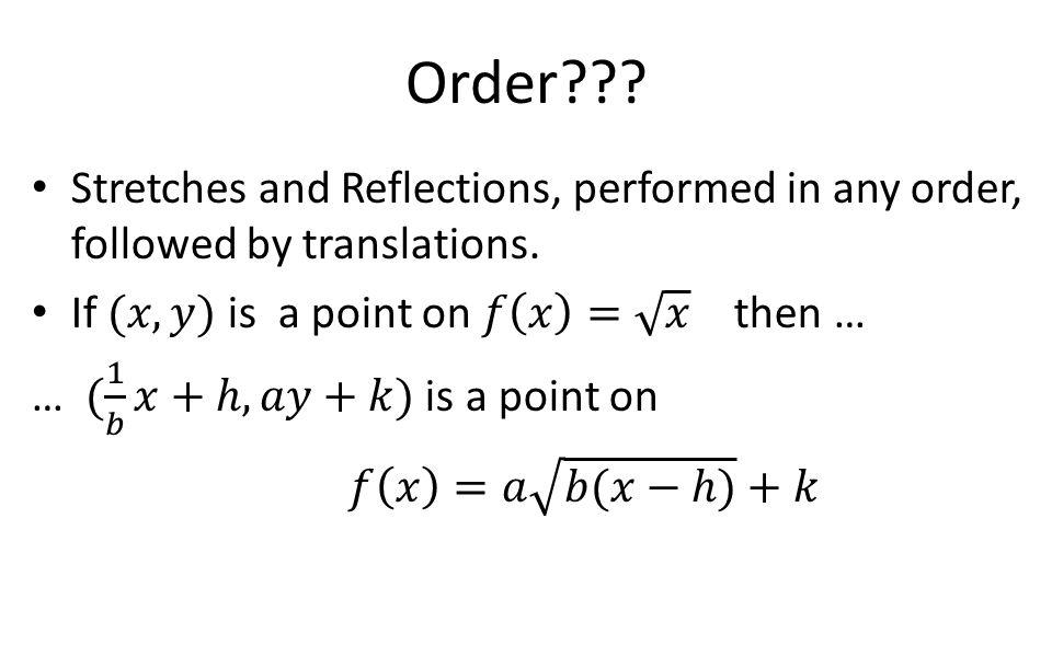 Order???