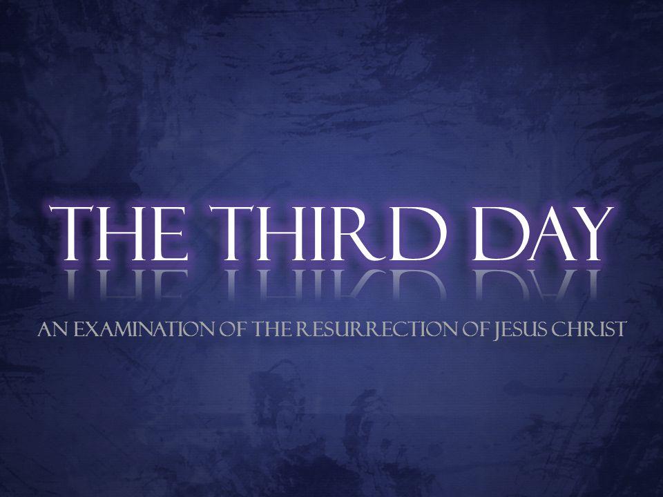 The Death of Jesus – Part 1