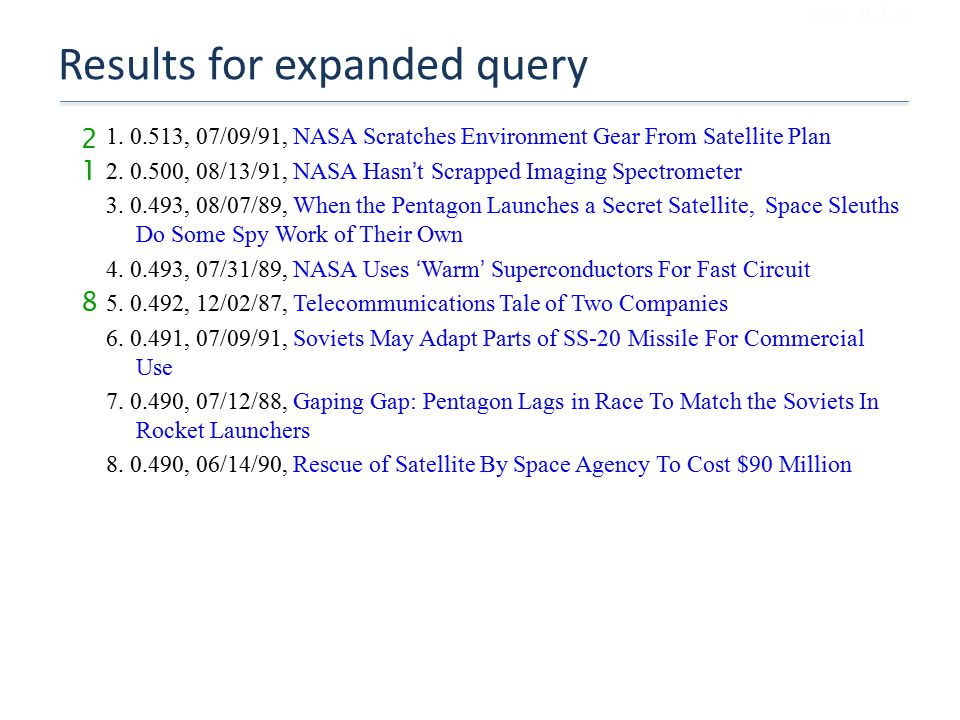 Results for expanded query 1.