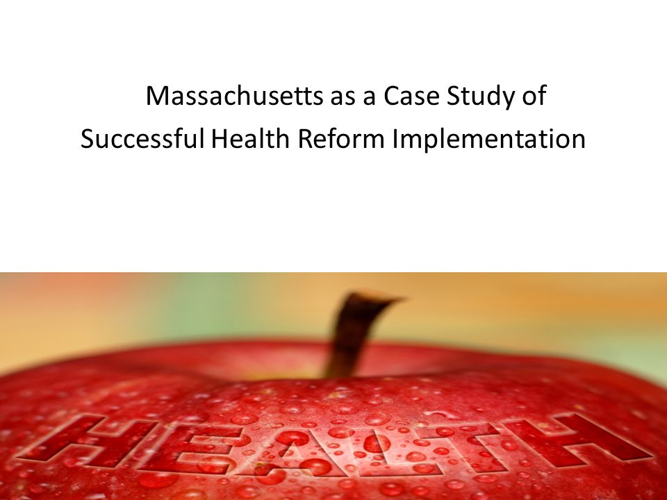 Massachusetts: A Post Health Care Reform State in a Pre-Reform Country Expanded Medicaid coverage to pre-disabled people living with HIV with an income up to 200% FPL (2001) Enacted private health insurance reform ( RomneyCare ) with a heavily subsidized insurance plan for those with income up to 300% FPL (2006) Re-tooled Ryan White Program – ADAP funding largely spent on insurance not Rx (2006) – Ryan White Program 75/25 rule waived to allow for increased support of essential support services (2007) – Maintaining unrestricted formulary and 500% FPL eligibility (2006 - present)