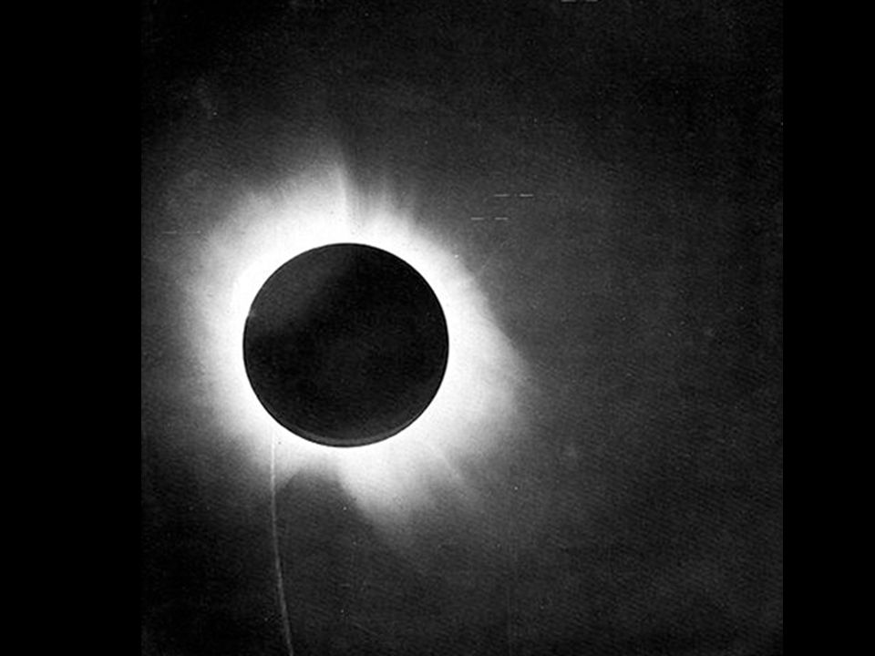 Why was the test done during an eclipse?
