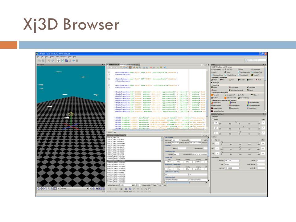 Xj3D Browser