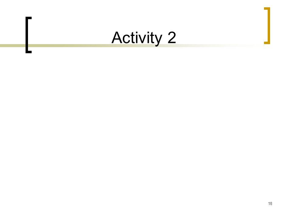 Activity 2 18