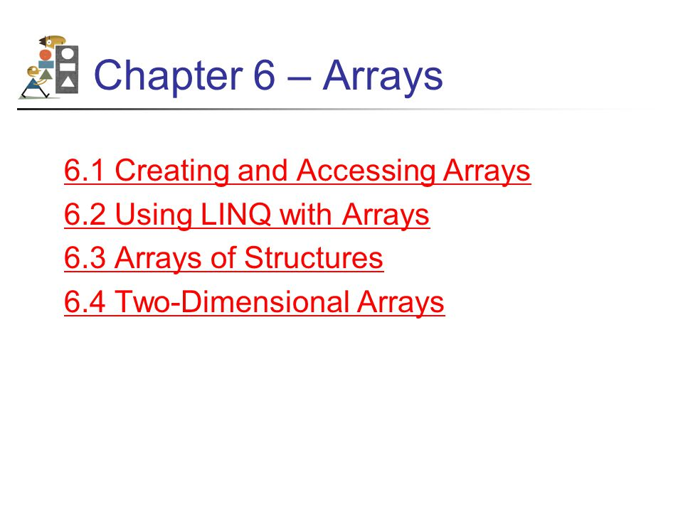 Copying an Array Cont.