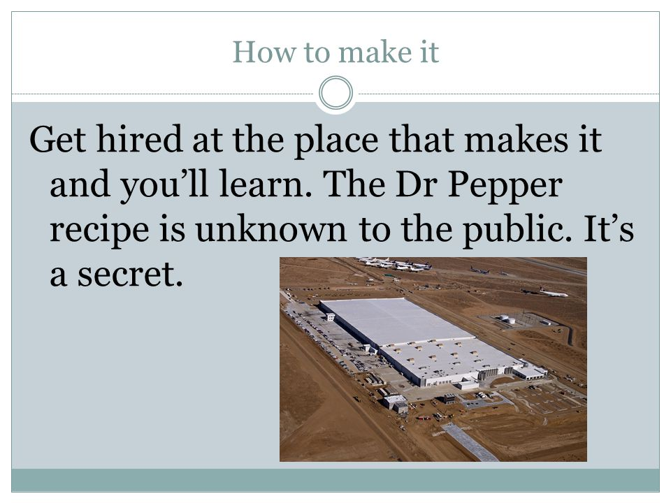 How to make it Get hired at the place that makes it and you'll learn.