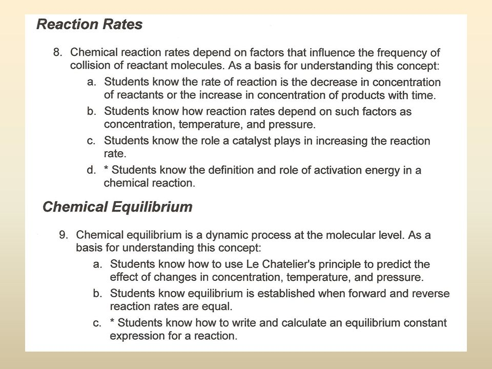 Reaction Rates Objective: Describe what is meant by the rate of a chemical reaction.