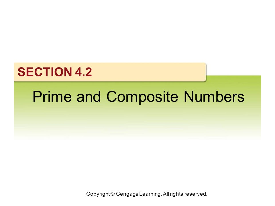 3 What Do You Think.Why is 1 neither a prime nor a composite number.