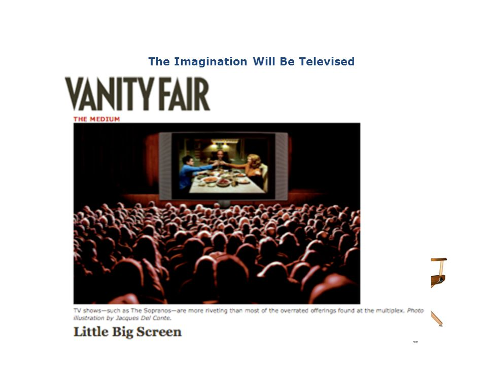 The Imagination Will Be Televised