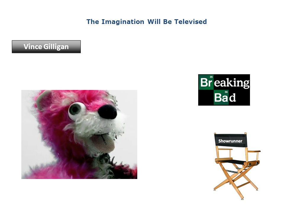 The Imagination Will Be Televised Vince Gilligan