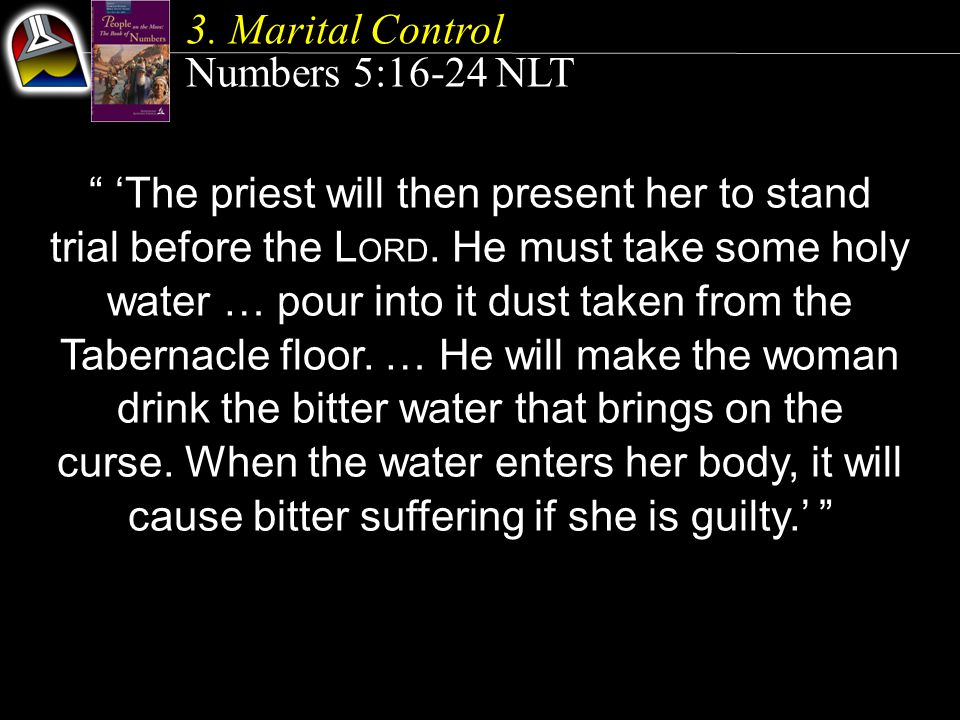 'The priest will then present her to stand trial before the L ORD.