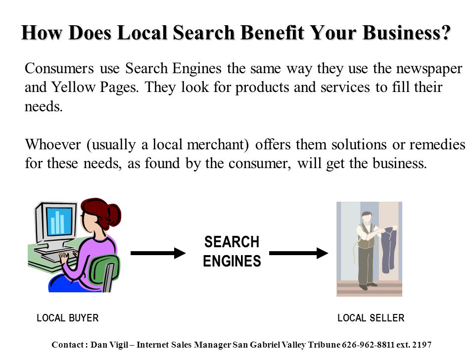 How Does Local Search Benefit Your Business.