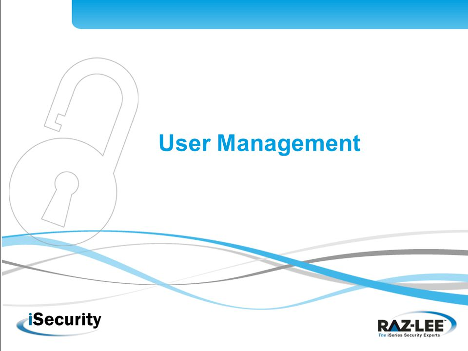 1 User Management