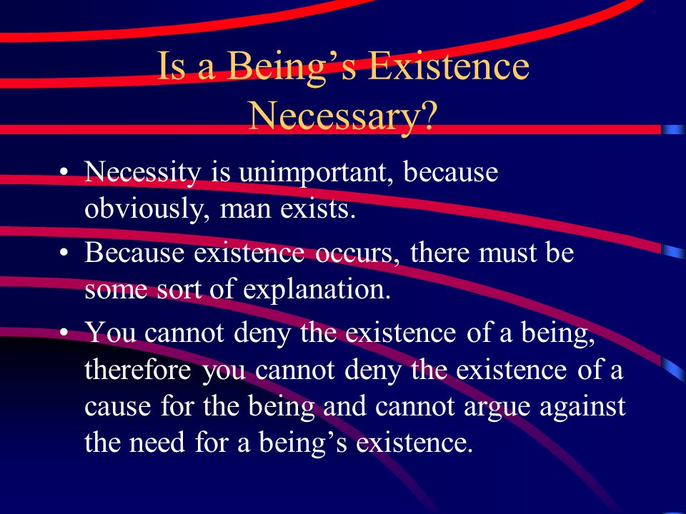 Why Should We Believe in Sufficient Reason.