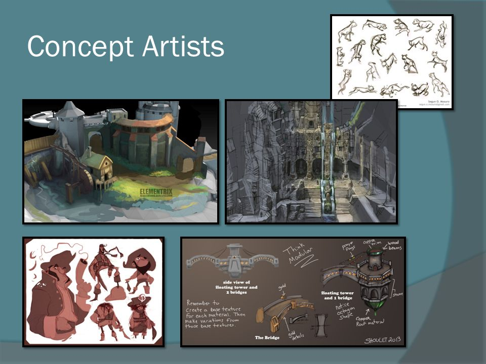 Concept Artists