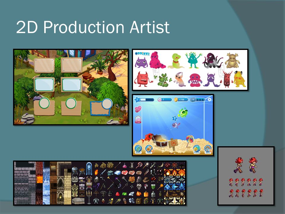 2D Production Artist
