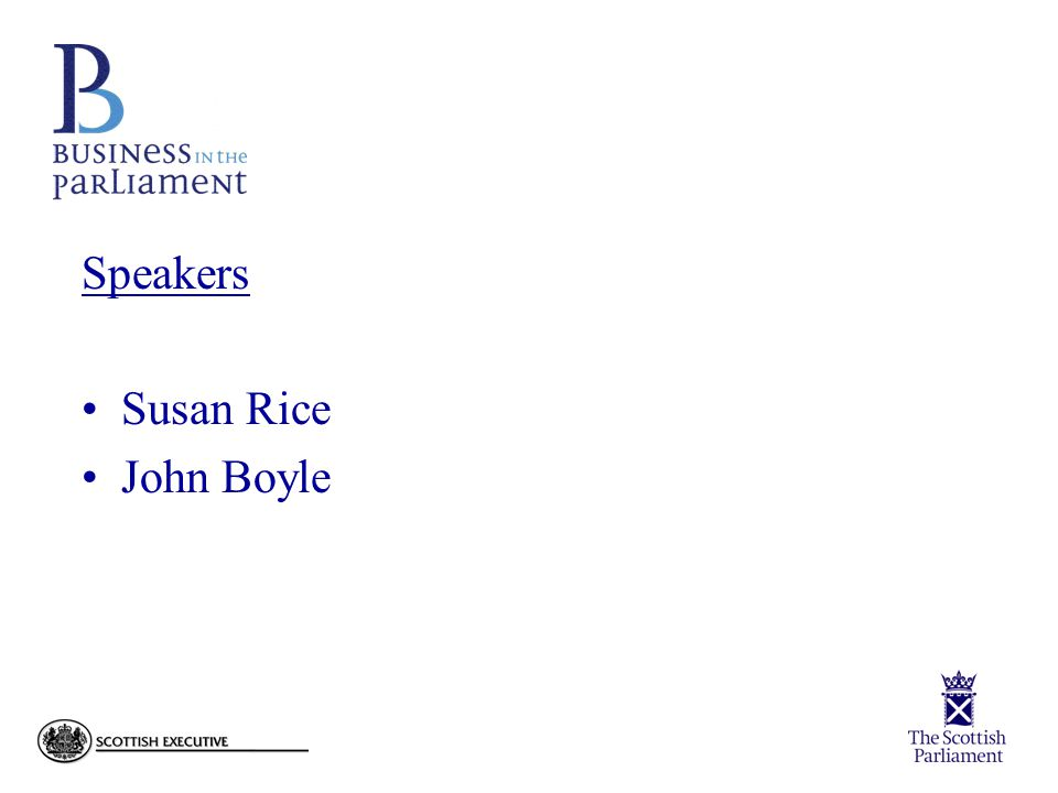 Speakers Susan Rice John Boyle