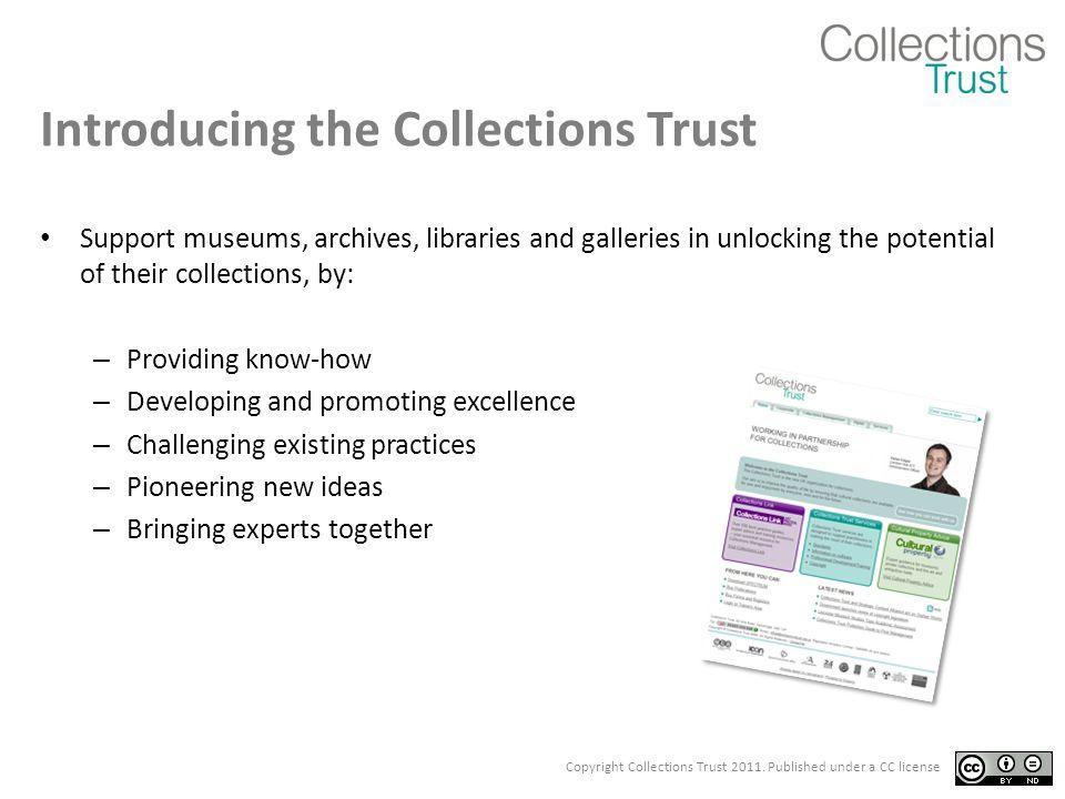 http://standards.collectionslink.org.uk
